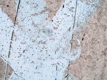 Krakingowa betonowa tekstura Grunge tło Obrazy Royalty Free