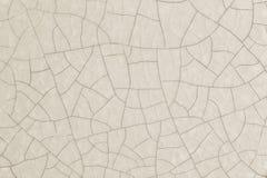 Krakingowa ceramiczna powierzchnia Zdjęcie Royalty Free