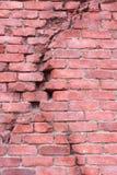 Krakingowa ściana Zdjęcia Stock