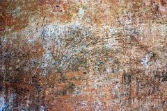 Krakingowa farby tekstura i drapający tynk obrazy stock