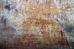 Krakingowa farby tekstura i drapający tynk fotografia royalty free