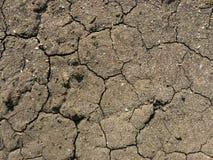 Krakingowa glebowa tekstura Obraz Royalty Free