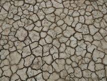 Krakingowa i sucha ziemia póżniej na zdjęcia stock