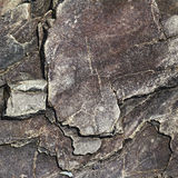 Krakingowa kamień skała w stylu grunge Zdjęcie Stock