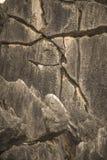 Krakingowa skała 2 obraz royalty free