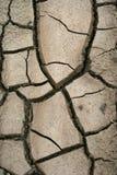 krakingowa sucha borowinowa tekstura zdjęcia stock