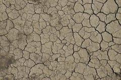 krakingowa sucha ziemia Zdjęcie Stock