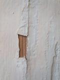 Krakingowa tekstura farba Stara farba na drewnianym nawierzchniowym zakończeniu Widok wierzchołek, Makro- fotografia barwił tekst Obrazy Royalty Free