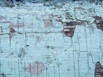 Krakingowa tekstura farba Stara farba na drewnianym nawierzchniowym zakończeniu Widok wierzchołek, Makro- fotografia barwił tekst Fotografia Stock