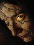 krakingowa zła twarz Obrazy Royalty Free