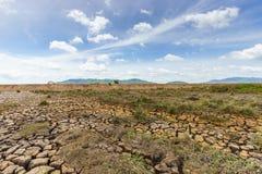 krakingowa ziemi Zdjęcie Royalty Free