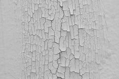 Krakingowe ściany, struga farbę Zdjęcia Stock