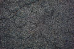 Krakingowego asfaltu drogowa powierzchnia Obraz Royalty Free