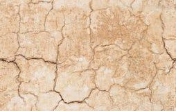 Krakingowego tynku bezszwowa tekstura Zdjęcia Royalty Free