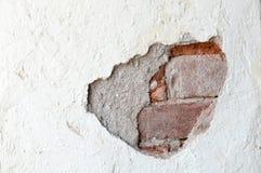 Krakingowy beton Fotografia Stock