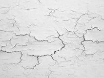 Krakingowy betonowej ściany tło Zdjęcie Stock