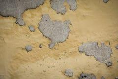 Krakingowy betonowy rocznik Zdjęcia Stock