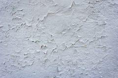 Krakingowy betonowy rocznika ściany tło Fotografia Stock