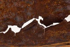 Krakingowy żelazo Obrazy Royalty Free