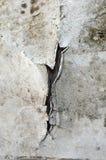 Krakingowy i obrany metal z zrudziałą teksturą Zdjęcie Stock