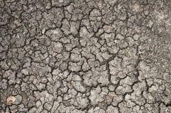 Krakingowy lub wysuszony tekstury tło ziemi, ziemi/ fotografia stock