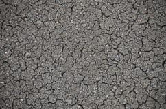 Krakingowy lub wysuszony tekstury tło ziemi, ziemi/ obrazy royalty free