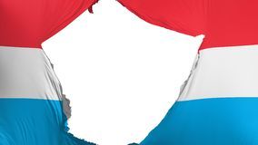 Krakingowy Luksemburg zaznacza ilustracja wektor