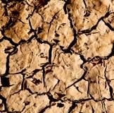 krakingowy piasek w Morocco Africa pustyni abstrakcie makro- obrazy stock