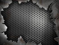 krakingowy projekta ramy grunge metal twój Fotografia Royalty Free