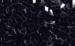 Krakingowy szkło Fotografia Royalty Free