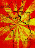 krakingowy tła starburst Zdjęcie Royalty Free