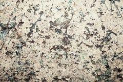 Krakingowy upaćkany stary malujący ścienny tło Zdjęcie Royalty Free