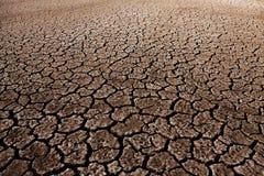 Krakingowy ziemi ziemi ziemi tekstury tło Zdjęcie Stock