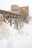 Krakovec Castle Stock Photo