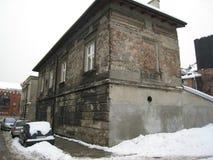 Krakow antyczny budynek zdjęcie royalty free
