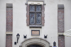 Krakow August 19,2014: Building details in Krakow,Poland Royalty Free Stock Photos
