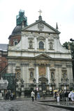 Krakow August 19,2014:Church Saint Peter and Pavel in Krakow,Poland Royalty Free Stock Photo