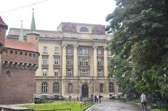 Krakow August 19,2014:Historic Building in Krakow,Poland stock photo