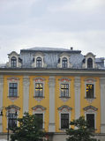 Krakow,august 19th 2014 - Historic building in Krakow,Poland royalty free stock photo
