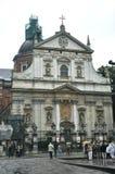 Krakow Augusti 19,2014: Kyrkliga St Peter och Pavel i Krakow, Polen Royaltyfri Foto