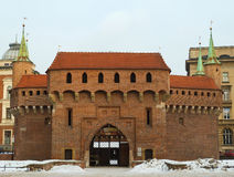 Krakow Barbican Royalty Free Stock Images