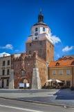 Krakow brama w Lublin Zdjęcie Royalty Free
