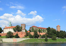 Krakow castle Stock Image