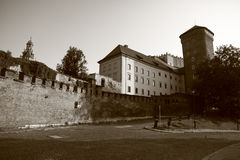 Krakow castle in Poland Royalty Free Stock Image
