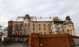 Krakow Castle Royalty Free Stock Images