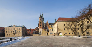 Krakow Cathedral St Stanislaw Poland Wawel Hill Royalty Free Stock Images