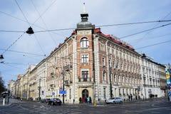 Krakow center stock photos