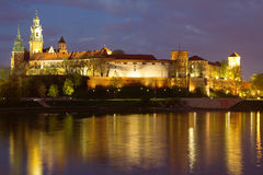 Krakow city in Poland, Europe Royalty Free Stock Photography
