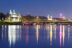 Krakow city in Poland, Europe stock photography