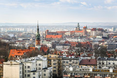 Krakow city, Poland Royalty Free Stock Photo